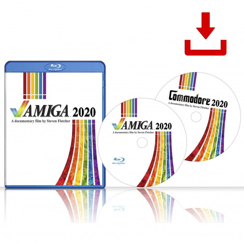 Digital Download Amiga 2020 & Commodore 2020 Documentaries - PreOrder