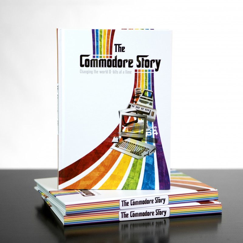 Hardback Printed Book - The Commodore Story & E-Book