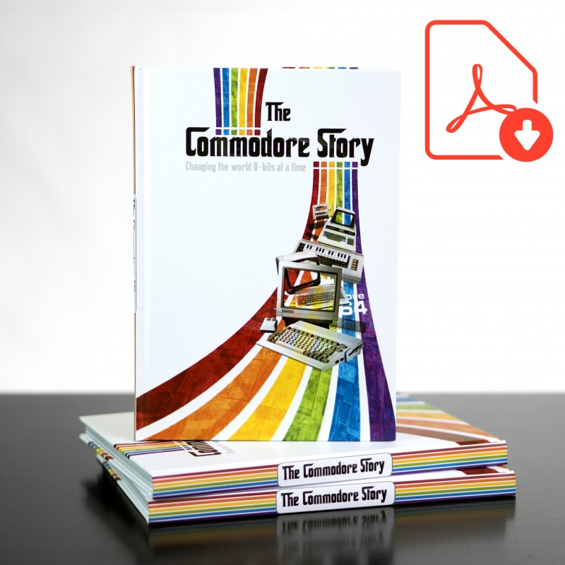 Digital Download The Commodore Story E-Book (PDF)