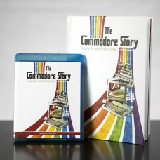 The Commodore Story Blu-ray, Hardback Printed Book & All Downloads